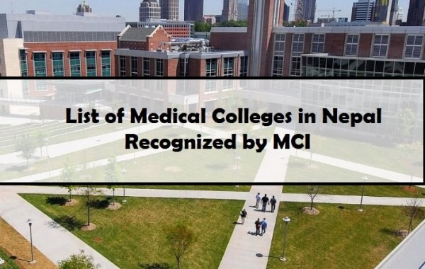 List of Medical Colleges in Nepal Recognized by MCI